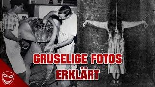 10 unfassbar GRUSELIGE alte Fotos erklärt!