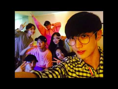FRIENDSHIP of Young Cast from Moonlight Drawn By Clouds @ Vacation Trip Cebu