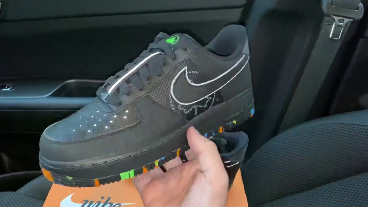 Nike Air Force 1 NYC Parks shoes - YouTube