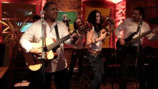 Chichi Peralta's Procura cover by Latino Express at Bar BQ Moscow