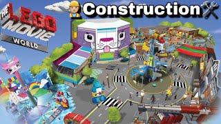 LEGO Movie World 2019 Construction Update at Legoland Florida!