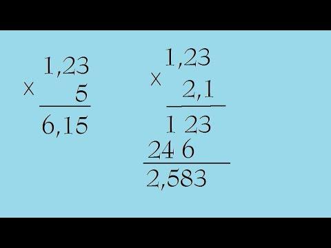 Phép nhân số thập phân – Toán lớp 5 [Online Math – olm.vn]