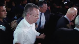 US pastor Andrew Brunson leaves Turkey after court ruling on terror charges