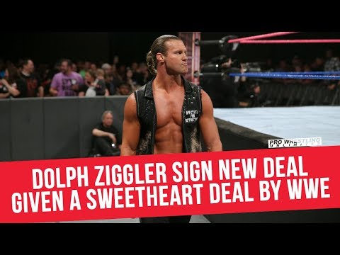 Dolph Ziggler Signs New Deal, Given A Sweetheart Deal  WWE