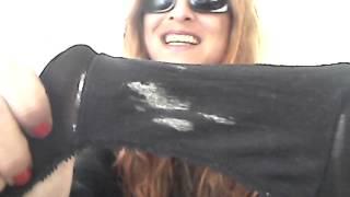 ✿Used Panties Daily✿ - Slip 'n Slide's Dirty Panty Gusset