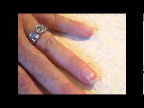 Sheba Nail Fiberglass Wrap Nail Repair Natural Nails - YouTube