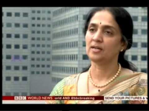BBC World News interviews Chitra Ramkrishna, MD & CEO, NSE