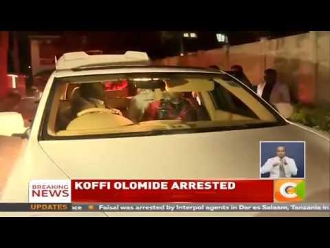 KOFFI OLOMIDE ARRÊTÉ À NAIROBI