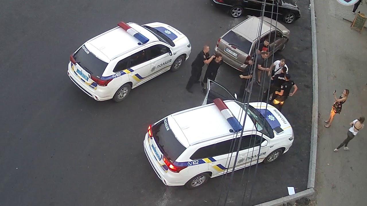 Нападение на сотрудников полиции