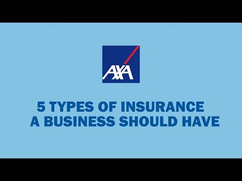 5  types of Insurance a business owner should have.