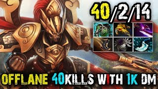 Offlane [Legion-Commander] 40Kills+778Duel Damage,The Hardest Hit by Monster | Dota 2 FullGame