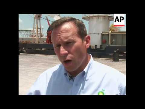 Tropical depression racing toward gulf affects cleaning efforts