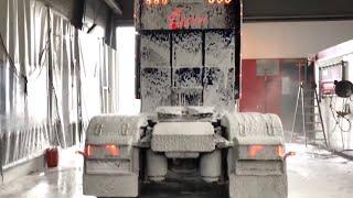 ProNano Nano Wax for this beautifull 😍 Custom Scania V8 R580 from Transports Sylvain Léger