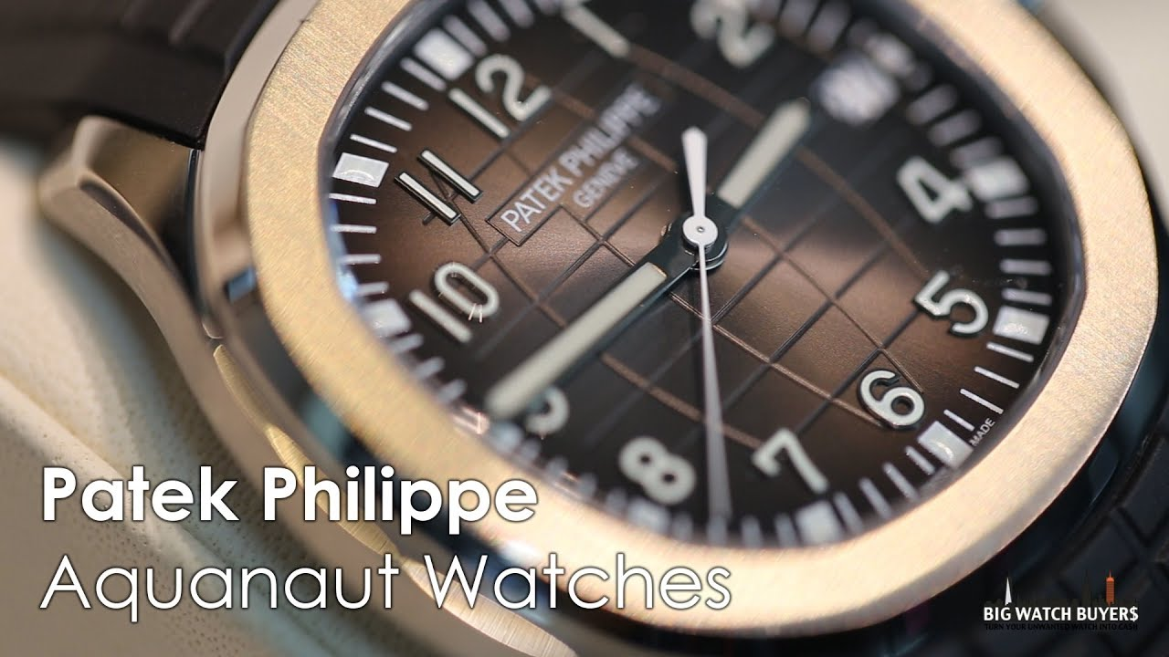 Patek Philippe Watches Aquanaut Mens 5167a 001 Bigwatchbuyers Youtube
