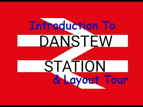Danstew Station 00 Gauge Garage Model Railway Layout Tour