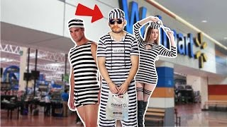 INMATE FOR STEALING GUM AT WALMART! Roblox Prision Life