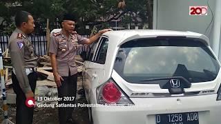 vuclip Rusak Parah, Begini Kondisi Mobil Pelaku Tabrak Lari di Bandung