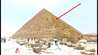 Man Notices This On The Great Pyramid Of Giza While Using Google Earth