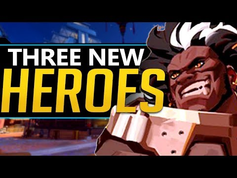 Overwatch 3 NEW Heroes Mauga confirmed - Blizzcon, Halloween Event updates
