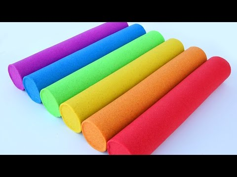 Thumbnail: DIY How To Make Colors Kinetic Sand Candy Bars Play Learn Colors Play Doh Pyramid