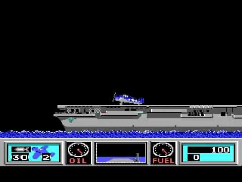 Dos Wings Of Fury 1989 Brderbund Software Youtube