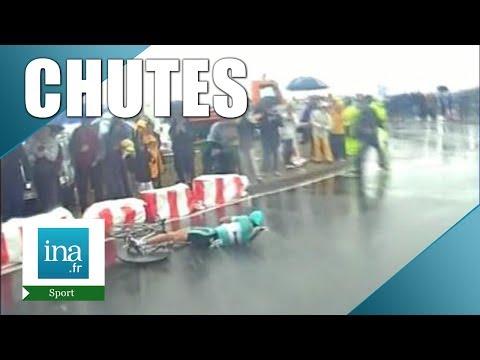 Les pires chutes du tour de France | Archive INA