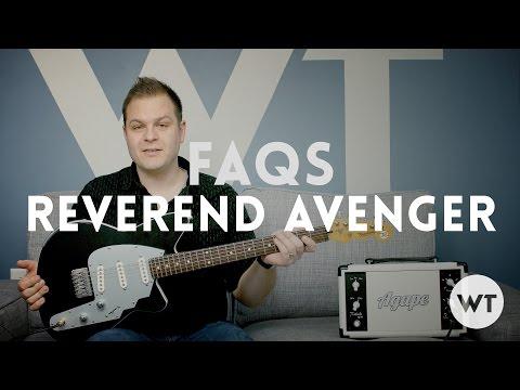 FAQs - My Reverend Avenger electric guitar