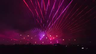 AeroBaltic Gdynia 2018 pokaz laserowy całość