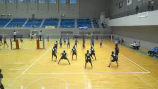 西日本決勝トーナメント1試合目対NTT西日本熊本2セット目