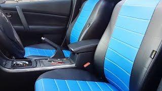 видео Как выбрать чехлы для сидений автомобиля