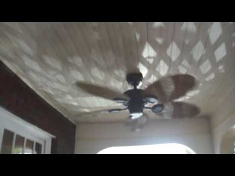 Hampton bay palm beach ceiling fans youtube hampton bay palm beach ceiling fans aloadofball Image collections