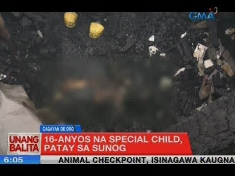 UB: 16-anyos na special child, patay sa sunog