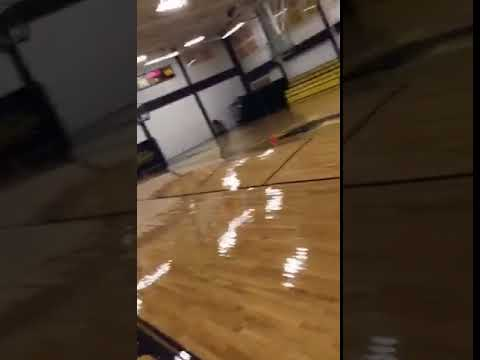 Aransas Pass High School gym damaged floor