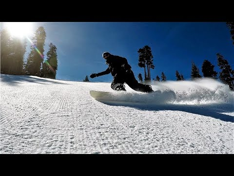 Snowboarding China Peak 2019