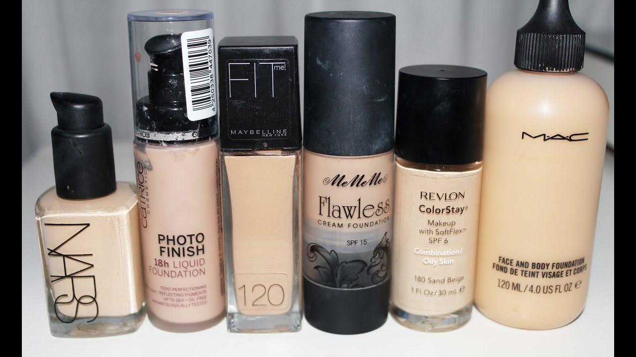 base para cara maquillaje