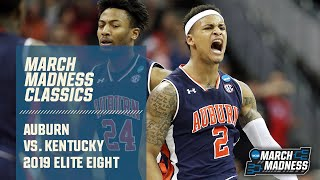 Auburn vs. Kentucky: 2019 Elite Eight | FULL GAME