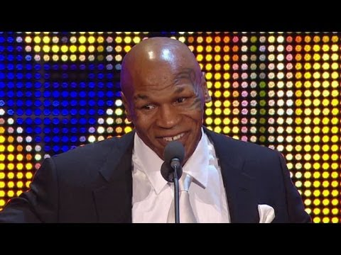 Mike Tyson inducted into WWE Hall of Fame: April 2, 2012