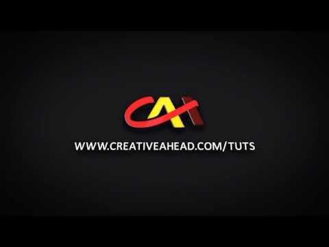 Creativeahead Tutorials (CAH Tutors) Logo Animation Video