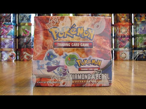 Pokemon Mysterious Treasures Booster Box Opening Pt. 1