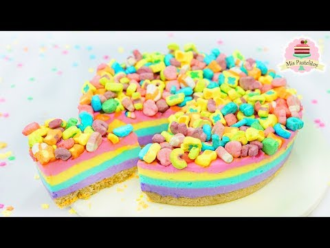 PAY SIN HORNO DE LUCKY CHARMS | MIS PASTELITOS