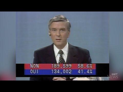 Watch CTV News' coverage of the historic 1980 Quebec referendum