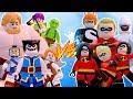 LEGO CLASH ROYALE VS LEGO OS INCRÍVEIS no LEGO Marvel Avengers | Briga de Heróis #202
