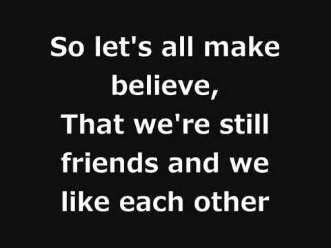 Oasis - Let's All Make Believe with Lyrics