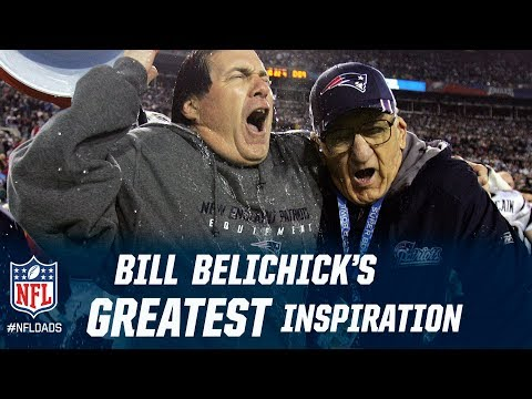 Bill Belichick's Greatest Inspiration | Happy Father's Day | NFL