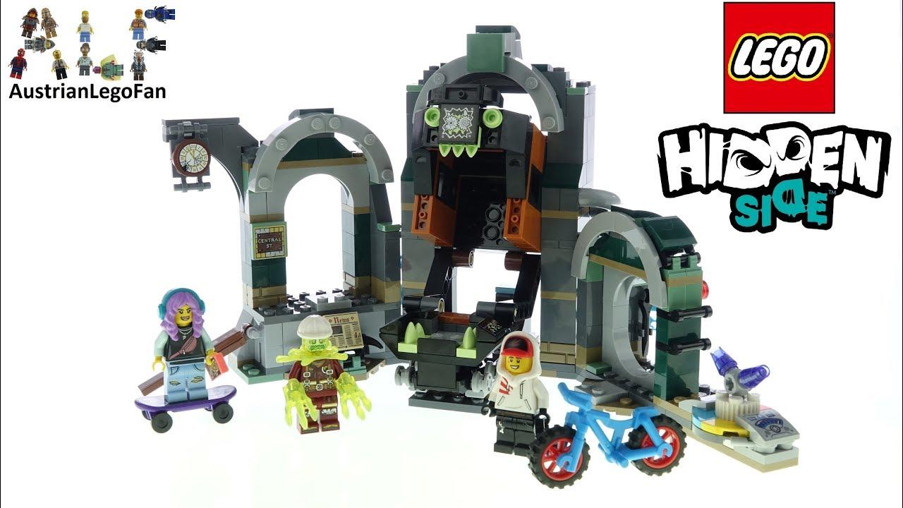 Lego Hidden Side 70430 Newbury Subway Haunted Cave