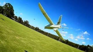 X-UAV Talon Mini (Mini Talon) Flight Testing - Flaperons