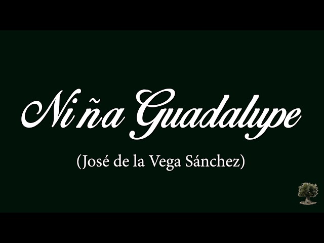 Niña Guadalupe (José de la Vega Sánchez)