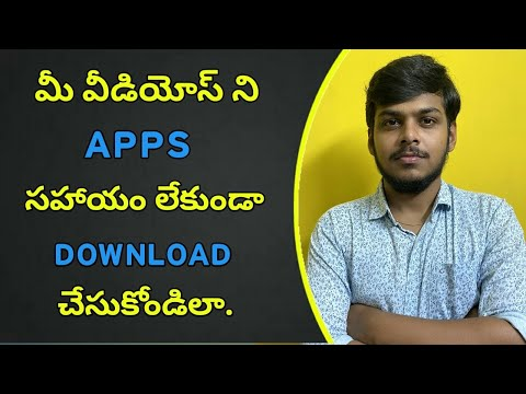 How to Download Youtube Videos Without Using  Apps  | New Feature | Telugu.