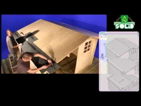 Comment poser un shingle sur le toit de son abri de jardin youtube - Comment poser du shingle ...