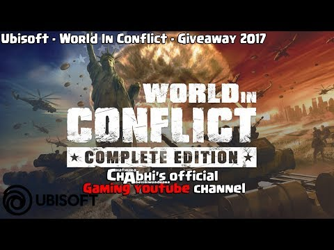 World in Conflict - Ubisoft GIVEAWAY (Gameplay)